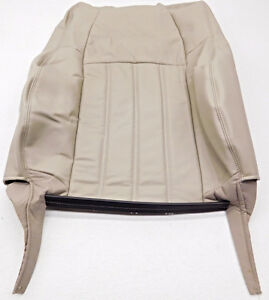 Oem Dodge Charger Front Right Passenger Side Upper Seat Cover Tan Leather