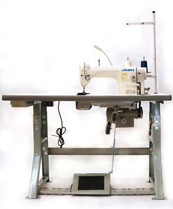 Juki Ddl 8700 Sewing Machine With Servo Motor Stand Led Lamp free Shipping