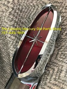 Nos 1959 Lincoln Premiere Driver Side Tail Light Assy Rare Find wow 1 Year