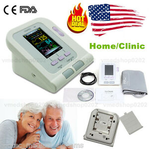 Us Fda Ce Digital Upper Arm Blood Pressure Monitor Adult Bp Cuff Software Usb