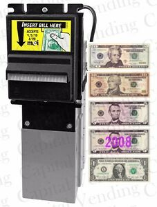 Mars Mei Ae 2631 Ae2631 Dollar Bill Acceptor Validator Downstacker 1 20 120vac