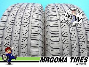 2 New 245 65 17 Goodyear Fortera Hl M s Tires 105t P245 65r17 2456517