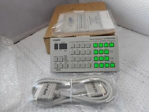 Leader Lt1610 01b Programmable Video Generator Remote Controller bxe
