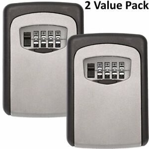 Realtor Wall Mount Key Lock Box With 4 digit Combination