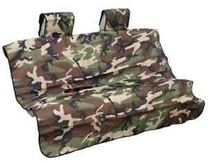 Aries 3146 20 Camouflage Waterproof Seat Defender For Bench Seat 58 X 55 5