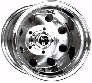 16x8 Mickey Thompson Alcoa Forged Aluminum Wheel 6 5 5 Unobtanuim 1 Left