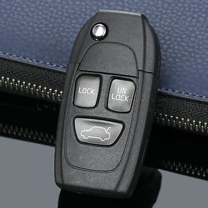 Car Remote Key Shell Case Fob For Volvo 960 850 Xc90 Uncut Blade Replace