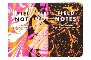 Field Notes 2016 Xoxo Limited Edition Sealed New Sold Out Set Of 3