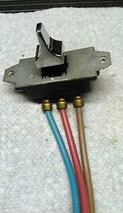 Buick Convertible Top Switch Early 1960s Nos