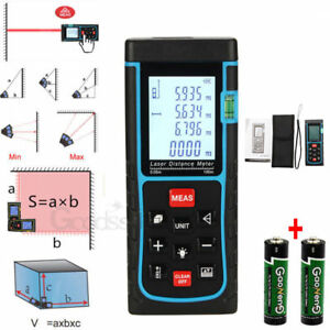 100 0 05m Digital Laser Distance Meter Range Finder Infrared Measure Diastimeter
