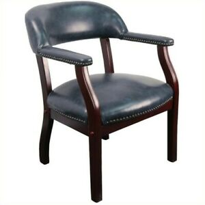 Flash Furniture Luxurious Conference Guest Chair Chairs In Navy