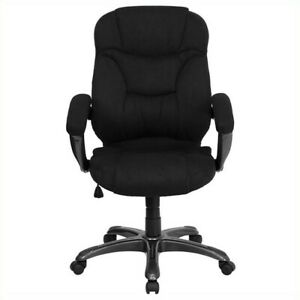 Flash Furniture High Back Upholstered Office Chair Executive Chairs In Black