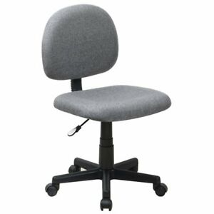 Flash Furniture Armless Ergonomic Task Office Chair Chairs In Gray