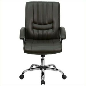 Flash Furniture Mid Back Managers Office Chair In Espresso Brown