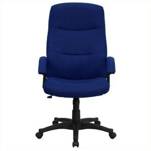 Flash Furniture High Back Swivel Office Chair Executive Chairs In Navy Blue