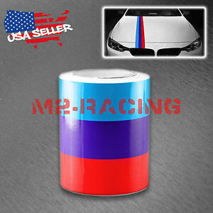 6 x59 M Racing Stripe Car Sticker Decal For Bmw Exterior Hood Roof Bumpers M