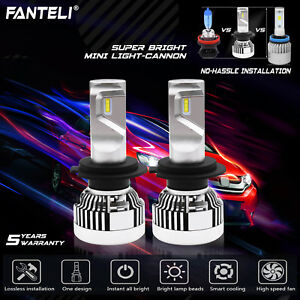 H7 252w 25200lm Philips Led Headlight Conversion Kit 6000k White Bulbs One Pair