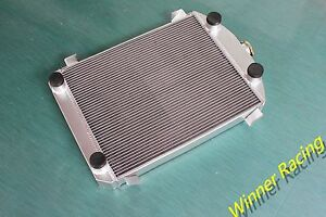 Fit Ford Model A Truck Pickup W Flathead Engine 1930 1931 Aluminum Radiator