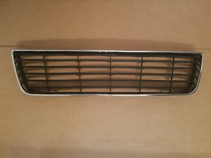 Fits 2006 2011 Chevy Impala Front Bumper Lower Bottom Grille W Chrome Surround