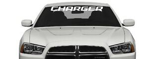 Dodge Charger Windshield Sticker Decal Aufkleber Windows Car Truck