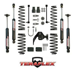 Teraflex 2 5 Suspension Lift Kit W 9550 Shocks For 07 18 Jeep Wrangler Jk 2 Dr