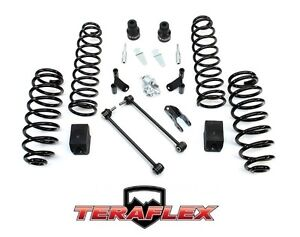 Teraflex 2 5 Suspension Lift Kit W Shocks Extender 07 18 Jeep Wrangler Jk 2 Dr