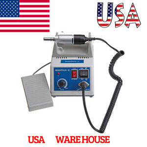 Dental Lab Marathon Micromotor Polisher Engine Unit electric Motor 35k Rpm Iinl