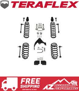 Teraflex 3 Suspension Base Lift Kit W o Shocks 07 18 Jeep Wrangler Jk 2 Door