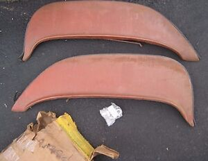 New Old Stock Foxcraft 1960 Mercury Fender Skirts With Clips