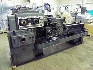 18 X 54 Lodge Shipley Powerturn Engine Lathe As Is Clearance Price