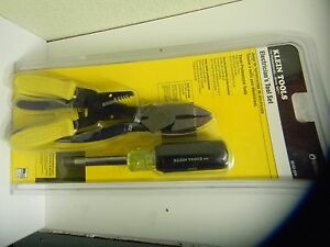 Klein Tools 55153 sen 3 Piece Professional Electrician s Tool Set made In Usa
