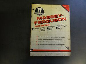 Massey Ferguson Shop Manual Mf 14