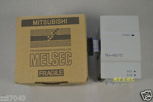 1pc Mitsubishi Analog Thermocouple Input Module Fx2n 4ad tc New In Box