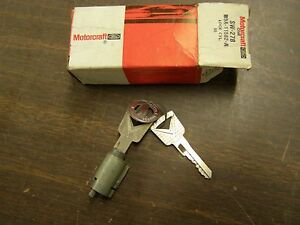 Nos Oem Ford 1955 1959 Thunderbird Fairlane Ignition Lock 1956 1957 1958 1954