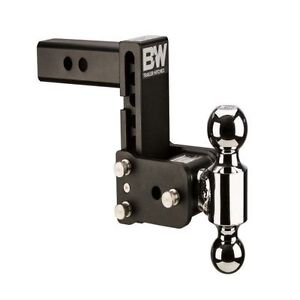 B W Hitches Ts20037b Tow Stow Dual Ball Hitch 2 2 5 16 With 2 5 Shank