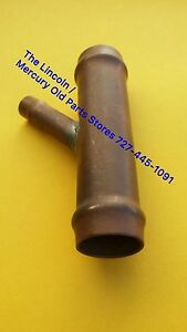 1963 1964 1965 Lincoln All Water Tube Y Connecter Splitter New Repro 63 64 65