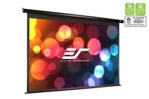 Elite Screens Electric110h Spectrum Series 110 16 9 Maxwhite Projection Screen