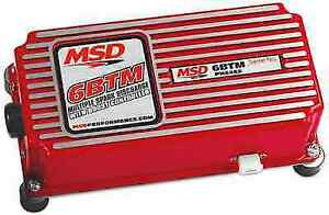 Msd 6462 Red 6 btm Ignition Control Box For Turbo supercharged Engines