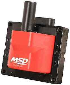 Msd 8231 External Ignition Coil Replacement For Corvette W Single Connector