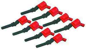 Msd 82428 Set Of 8 Blaster 2 Coil on plug Ignition Coils For Mustang f 150 4 6l