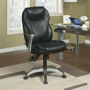Serta Ergo executive Office Chair In Black Bonded Leather