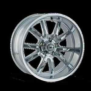 Cpp Ridler Style 650 Wheels 20x8 5 Front 20x10 Rear 5x5 Chrome