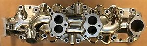 New Polished 1949 1953 Ford Flathead V8 Dual Intake Manifold