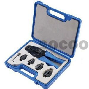 New Ly03c 5d3 Crimping Tool Kit With Changeable 4 Die Sets