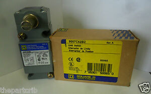 New Square D 9007c62b2 Side Rotary Limit Switch 9007 C62b2 Series A Nib