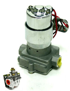 Electric Fuel Pump 140gph With Regulator Ford Chevy Sbc Bbc Mopar 14psi 3 8 Npt