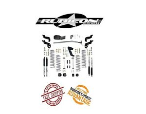 Rubicon Express 3 5 Sport Lift Kit W Mono Tube Shocks 07 16 Jeep Jku 4 Door