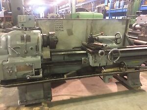 17 x78 cc Clausing Colchester Engine Lathe 3 Hole Taper