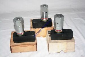 Lot Of 3 New Parker Hydraulic Flow Control Valve F1600s 40gpm 3000 Psi Max