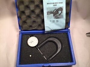 Central Tools Disc Brake Gage Dial Indicator 300 1 300